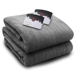 Biddeford 2033-905291-902 MicroPlush Electric Heated Blanket