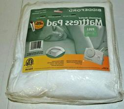 BIDDEFORD Automatic Heated Mattress Pad Size Queen
