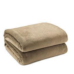 JefreyF Blankets - Warm Flannel Blanket Coral Plaid for Sofa