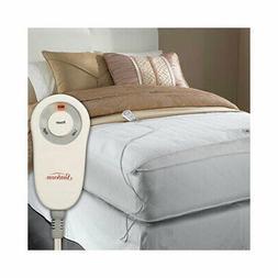 comfy toes heated foot warming mattress pad
