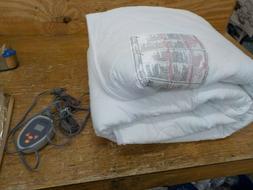 Beautyrest Cotton Heated Queen Mattress Pad
