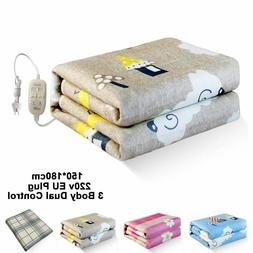 Electric Blanket Thicker Double Size Pad Mattress Thermostat