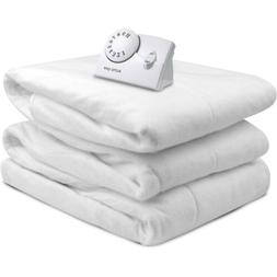 Biddeford Blankets Electric Heated Mattress Pad, Full