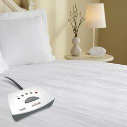 Heated Electric Mattress Pad Queen Twin King Built In Contro