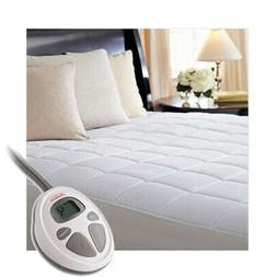 heated electric queen mattress pad