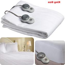 Sunbeam Heated Mattress Pad KING SIZE  Protector Cover Elect