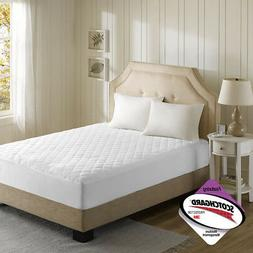 Beautyrest Heated Microfiber Mattress Pad with 3M Scotchgard