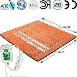 HealthyLine Far Infrared Amethyst Heated Mattress Pad - King