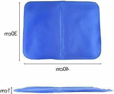2Pc Dog Self Gel Mat Pad Bed Mattress For Body