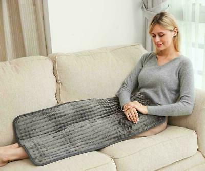 Warmer Soft Electric Heating Pad For Shoulder Back Spine Nec