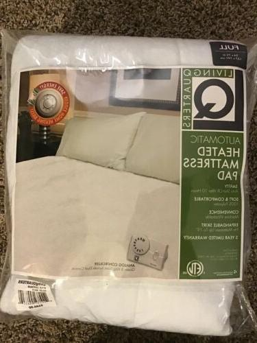 automatic full size heated mattress pad 180