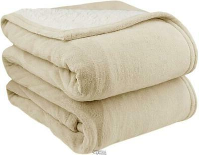 biddeford reversible mattress pad sherpa electric heated