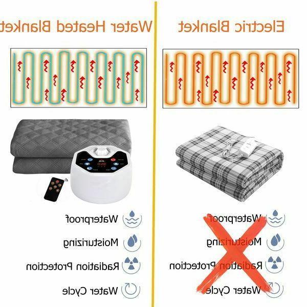 Electric Heated Mattress Water Warm Winter