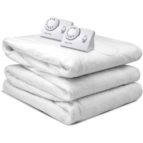 electric heated mattress pad