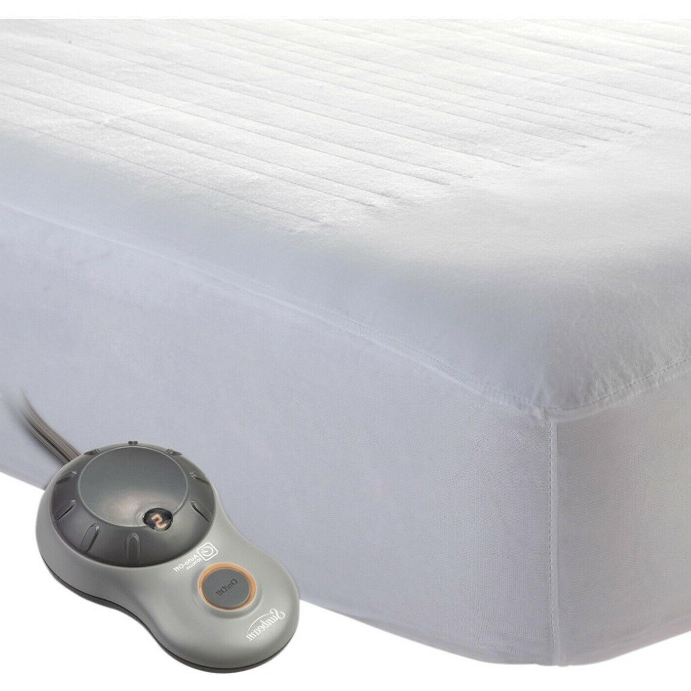 Sunbeam Heated Mattress Pad King Size Protector Cover Electr