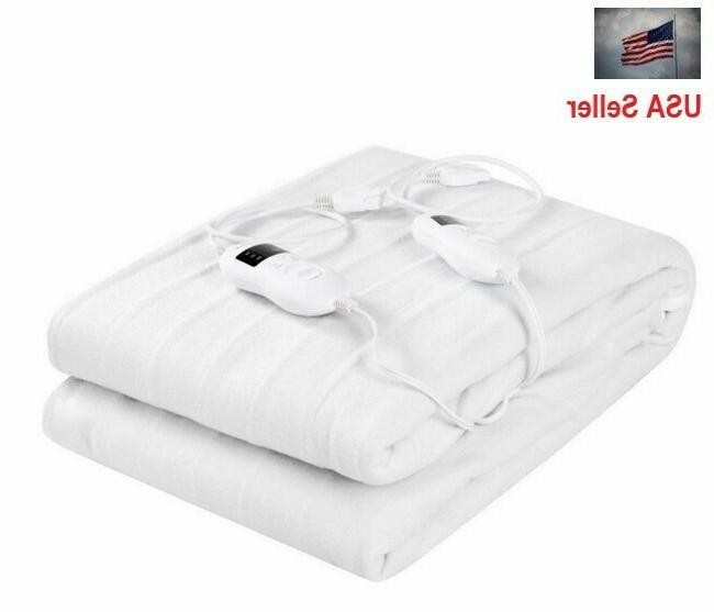 heated mattress pad queen topper cover bed