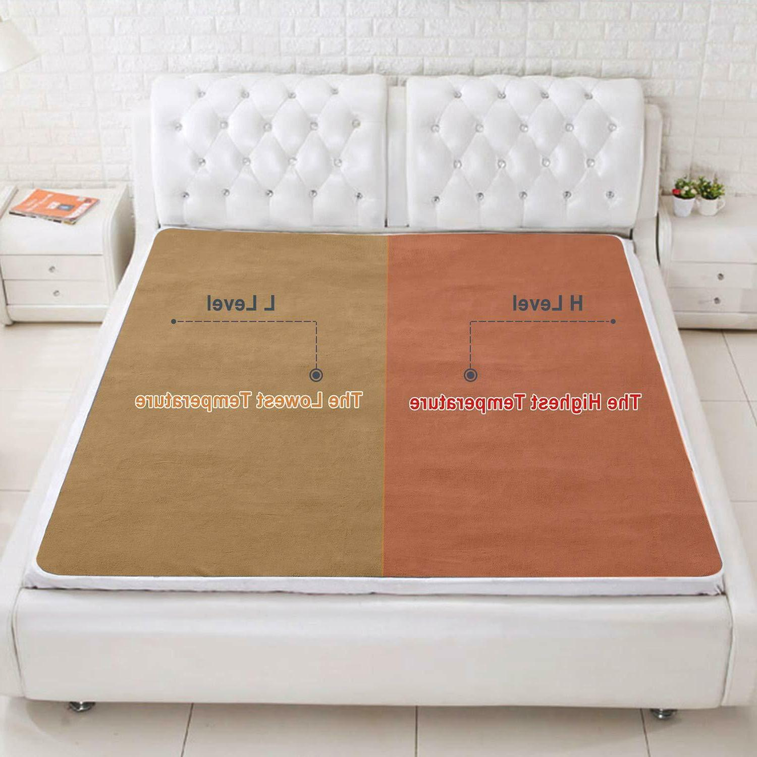 Heated Blanket Dual Timer, Queen