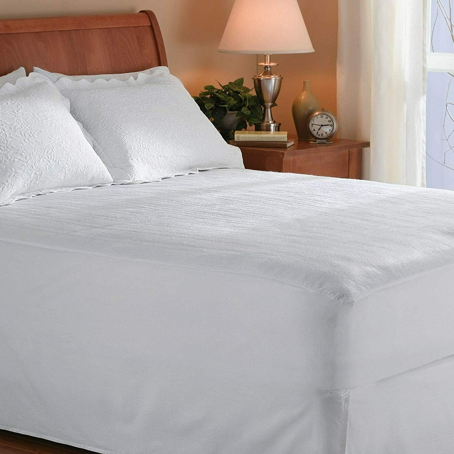 Heated Queen Pad Washable Bed Electric