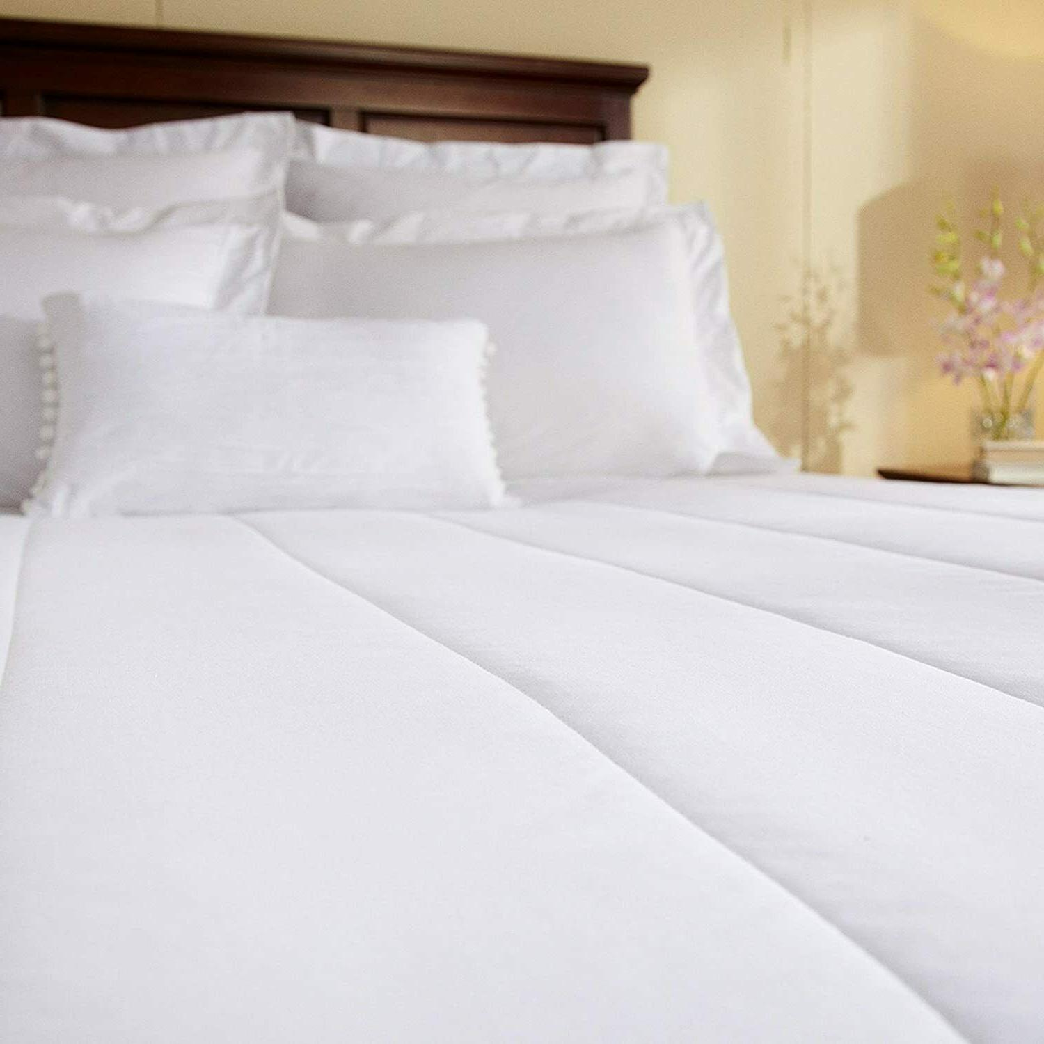 heated queen size mattress pad dual control