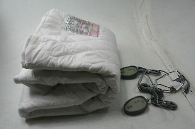mpt55 0058 heated mattress pad queen w
