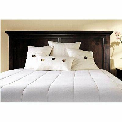 msu3kqsp00012a00 m1p quilted electric heated mattress pad