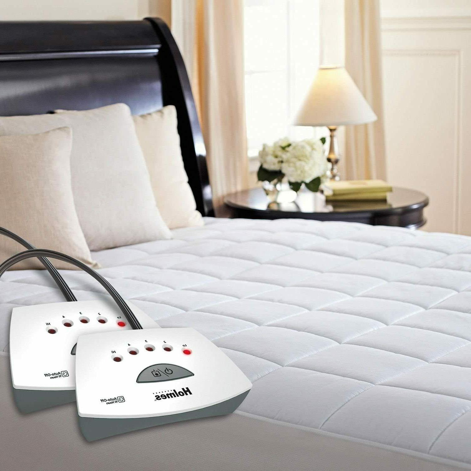 new in box luxury quilted heated mattress