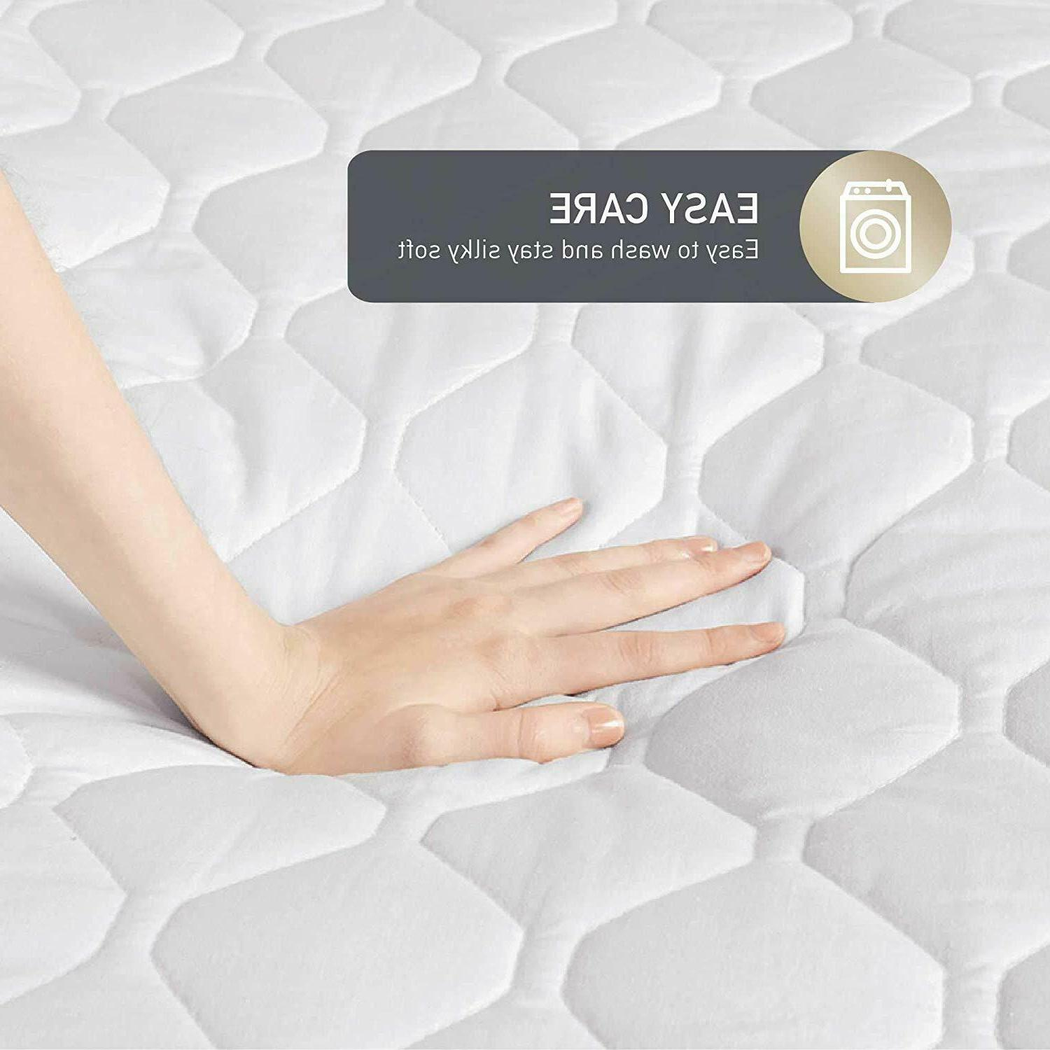Hyde Heated Mattress Pad Dual Controls KING Quilted