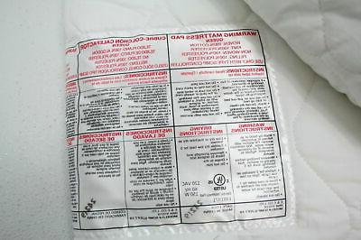 Quilted Cotton Heated Pad Control