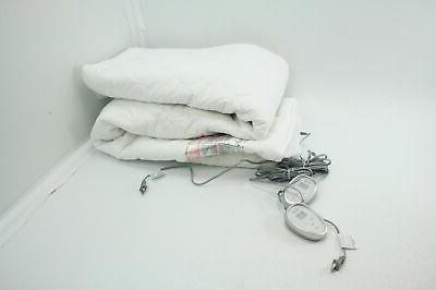 quilted cotton heated mattress pad queen size