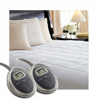 selecttouch premium quilted cotton electric heated mattress