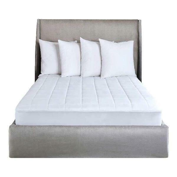 selecttouch premium quilted electric heated mattress pad