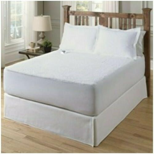 smart heated electric mattress pad safe
