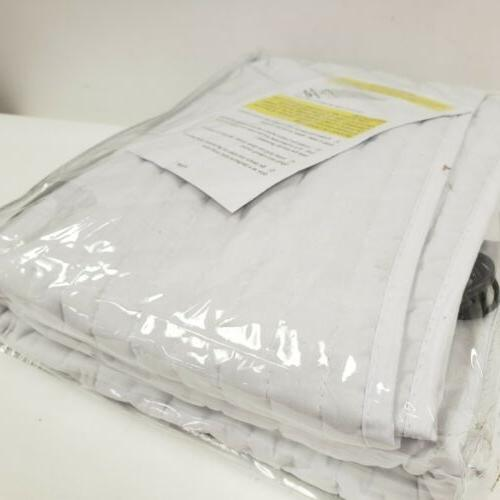 """Electrowarmth Twin Heated Mattress Pad Non-Fitted Size 36"""" x 60"""" Model# 12V"""