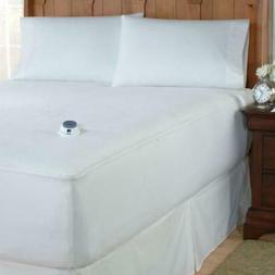 Soft Heat™ MicroPlush Top Warming Electric Mattress Pa