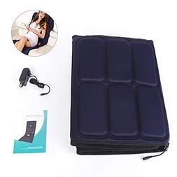 Full Body Massage Mattress Cushion with 9 Massage Head, Anti