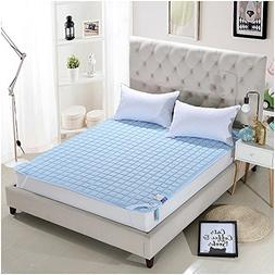 AMADA Quilted Mattress Pad Twin Size Cover with Microfiber M