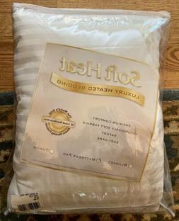 softheat smart heated electric mattress pad queen