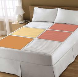 therapeutic heated mattress pad 6 heating zones