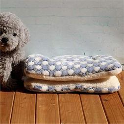 BiBaBoMax Winter Warm Dog Bed Soft Fleece Pet Blanket Cat Li